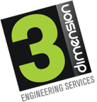 3 Dimension logo